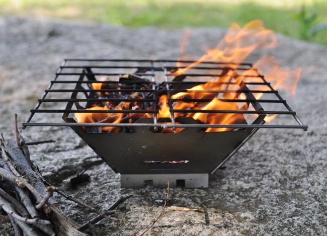 vargo titanium fire box grill バーゴ チタニウム ファイヤーボックス